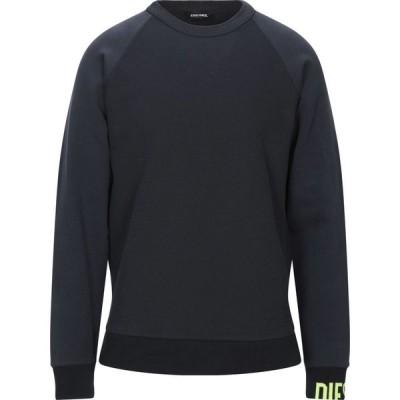 ディーゼル DIESEL メンズ スウェット・トレーナー トップス Sweatshirt Dark blue