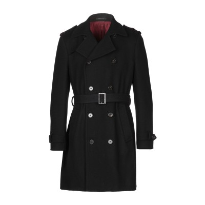 ROYAL ROW コート ブラック 50 バージンウール 90% / カシミヤ 10% コート