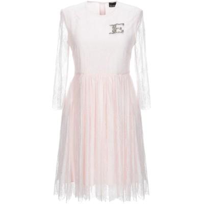 ERMANNO DI ERMANNO SCERVINO ミニワンピース&ドレス ピンク 40 ナイロン 100% ミニワンピース&ドレス