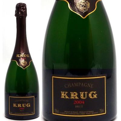 2004 クリュッグ ヴィンテージ 箱なし 並行品 750ml シャンパン フランス 白泡 コク辛口 ワイン ^VAKR26A4^