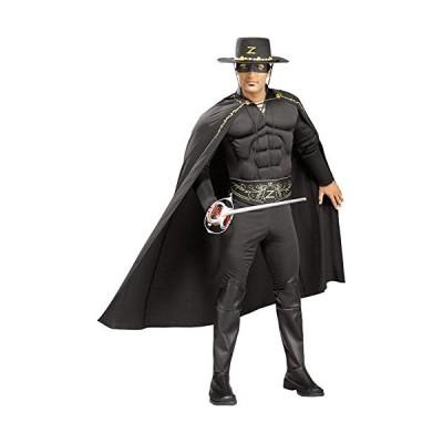 【平行輸入品】 Rubies Costume Co R56165-XL Deluxe Zorro Adult Costume Size X-Large