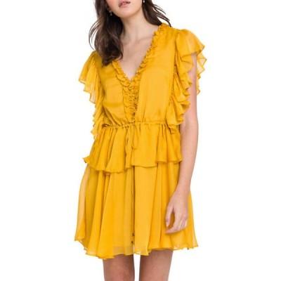 エンドレスローズ レディース ワンピース トップス Solid Mini Dress