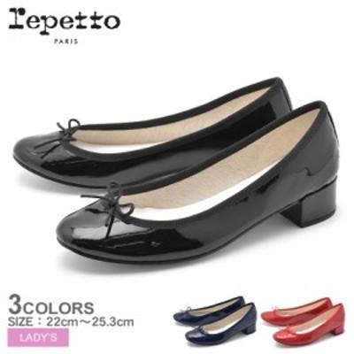 REPETTO レペット パンプス レディース シューズ 靴 バレリーナ カミーユ エナメル V511V