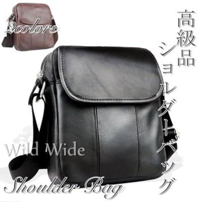 バッグショルダーバッグメンズバッグメンズショルダー本革バッグ柔らかい素材2色斜めがけレザーバッグ軽量