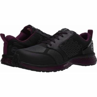 ティンバーランド Timberland PRO レディース スニーカー シューズ・靴 Reaxion Composite Safety Toe Black/Purple