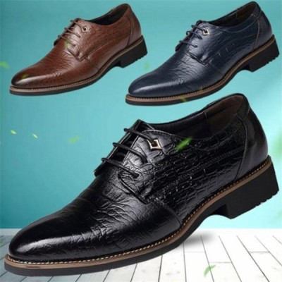 オックスフォードシューズ ワニ革エンボスビジネス ドレスアップ トレンド カジュアル rose 軽量撥水オールシーズン 革靴