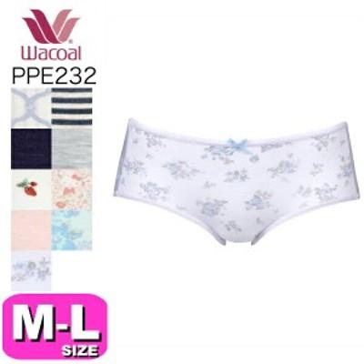 ワコール wacoal【メール便発送可】PPE232 すそピタ ショーツ MLサイズ WB