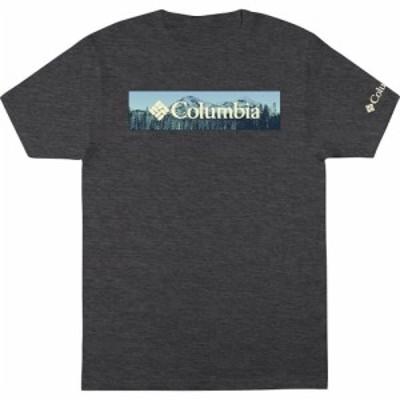 コロンビア Columbia メンズ Tシャツ トップス Range T-Shirt Charcoal Heather