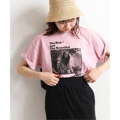 tシャツ Tシャツ Roberta Bayley Girls フォトTEE【洗濯機使用可能】◆