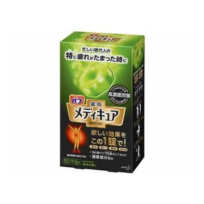 バブ メディキュア 森林の香り 6錠入 KAO