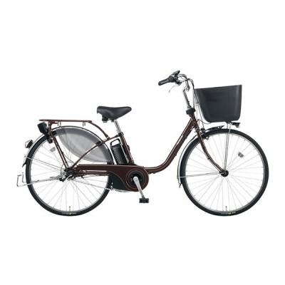 PANASONIC BE-ELE436-T2 ビターブラウン ビビ・EX [電動アシスト自転車(24インチ・内装3段)] 電動自転車