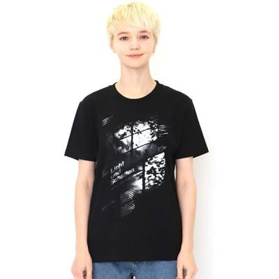 (グラニフ) graniph Tシャツ/サンライト フロム ウィンドー (ブラック) メンズ レディース SS (g100) (g107)