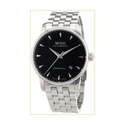 Mido Men's MIDO-M86004181 Baroncelli Analog Display Swiss Automatic Silver Watch 並行輸入品