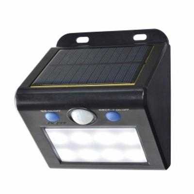 朝日電器 エルパ ソーラー式センサーウォールライト ESL-K101SL W