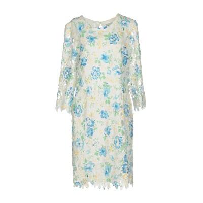 ALLURE ミニワンピース&ドレス ターコイズブルー 8 ポリエステル 100% ミニワンピース&ドレス