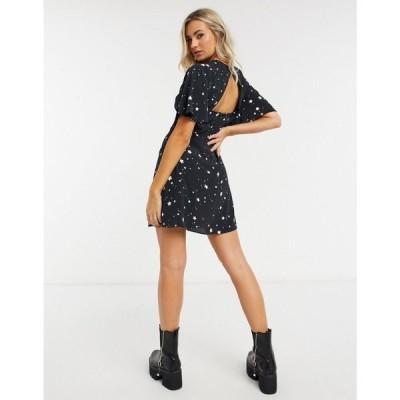 スタイルチート Style Cheat レディース ワンピース ワンピース・ドレス Cali Dress In Star Print マルチカラー