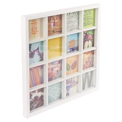 写真立て グリッドアート フォトディスプレイ ホワイト umbra アンブラ フレーム 写真 photo 正方形 スクエア ディスプレイ インテリア