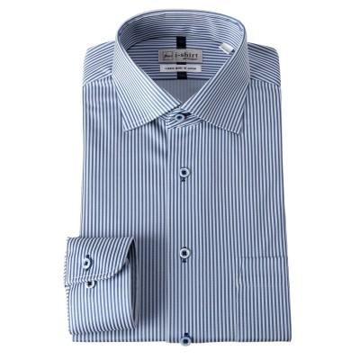 i-shirt長袖ワイシャツ(防汚・吸汗速乾・抗菌防臭・ノーアイロン・ストレッチ素材)(セミワイドカラー)(標準シルエット) (ワイシャツ)Shirts,