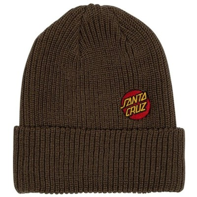 サンタクルーズ SANTACRUZ/MINI DOT BEANIE BROWN ビーニー