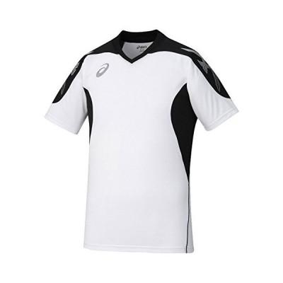 [アシックス] サッカーウエア 半袖プラクティスシャツ XS6090 [メンズ] ホワイト 日本 L (日本サイズL相当)