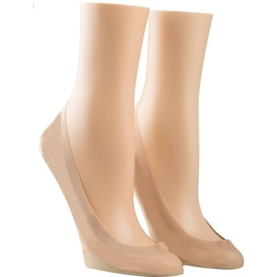 カルバンクライン Calvin Klein レディース ソックス インナー・下着 Laser cut 2 pair pack ballet liners Pink
