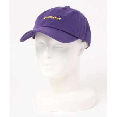 OVERRIDE / 【CONVERSE】C.TWILL LOW CAP / 【コンバース】コットン ツイル ロウ キャップ オーバーライド MEN 帽子 > キャップ