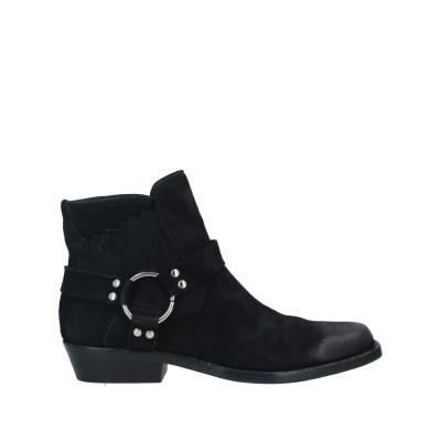 LEMARÉ ショートブーツ ブラック 36 革 ショートブーツ