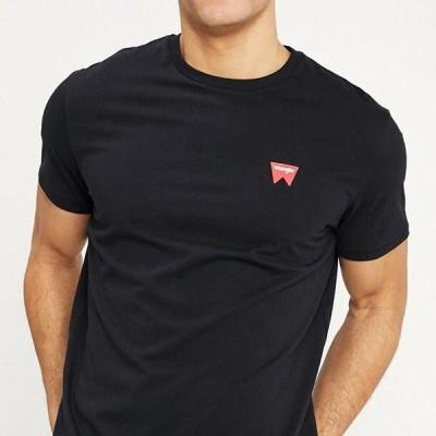 ラングラー メンズ ファッション SIGN OFF TEE - Basic T-shirt - black