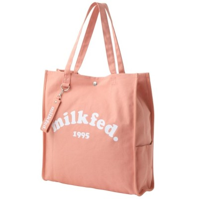 MILKFED. / PIPING SQUARE TOTE COOPER LOGO WOMEN バッグ > トートバッグ