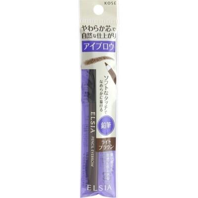 コーセー エルシアプラチナム鉛筆アイブロウBR301 ライトブラウン・BR301