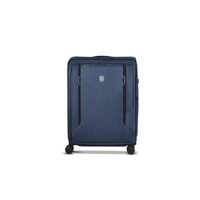 "Victorinox WT 6.0 Softside Spinner Luggage, Blue, Checked-Large (27"")【並行輸入品】"