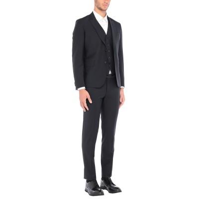 ブライアン デールズ BRIAN DALES スーツ ダークブルー 52 ポリエステル 52% / ウール 43% / ポリウレタン® 5% スーツ