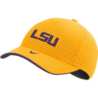 ナイキ Nike メンズ キャップ 帽子 LSU Tigers Gold Low-Pro L91 Adjustable Hat