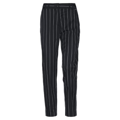 ラブ モスキーノ LOVE MOSCHINO パンツ ブラック 40 コットン 69% / ポリエステル 27% / ポリウレタン 4% パンツ