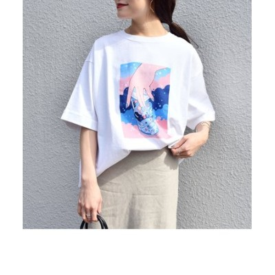meyocoプリントビッグTEE◇