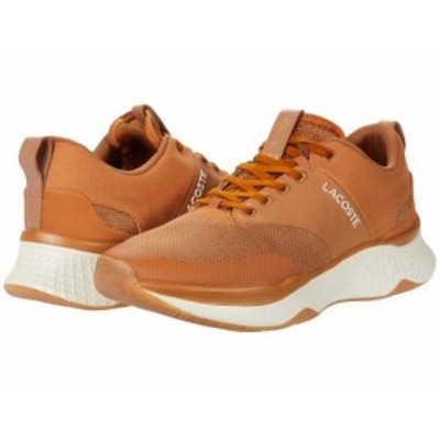 Lacoste ラコステ メンズ 男性用 シューズ 靴 スニーカー 運動靴 Court-Drive Plus 0120 3 Brown/Off-White【送料無料】