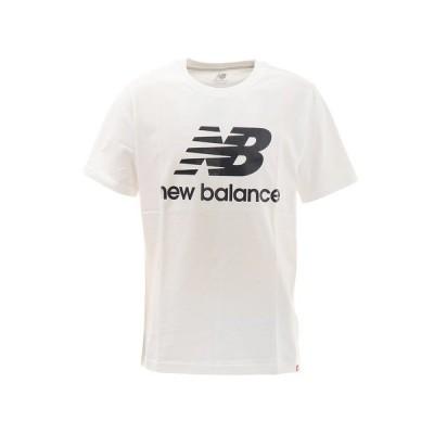ニューバランス(new balance) Tシャツ メンズ エッセンシャルズスタックドロゴショートスリーブ Tシャツ MT01575WK オンライン価格 (メンズ)