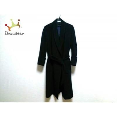 エボニーアイボリー Ebonyivory コート サイズF レディース ネイビー ロング丈/冬物       スペシャル特価 20200915