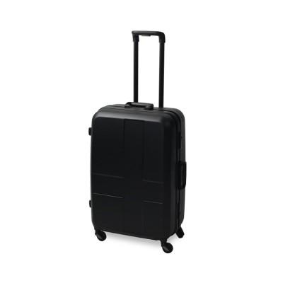 【カバンのセレクション】 イノベーター スーツケース Mサイズ フレーム 軽量 innovator 60L inv−58 ユニセックス ブラック系1 フリー Bag&Luggage SELECTION