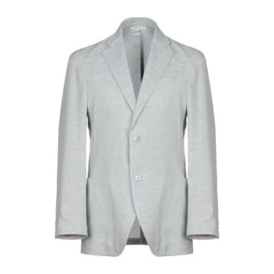 HYBRID SENSOR® by FLEXJAPAN テーラードジャケット ライトグレー 50 ポリエステル 100% テーラードジャケット