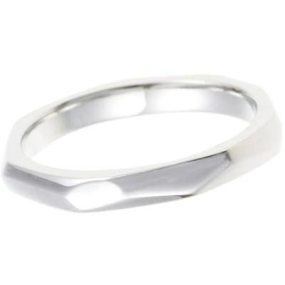 レディース リング 指輪 サージカルステンレス 316L 低アレルギー シルバー シンプル モード デイリー おそろい プレゼント ギフト
