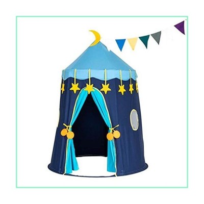 QWERTY Classic Indian Play Tent, Cotton Canvas Foldable Breathable Lightweight Playhouse Privacy Space Tent for Indoor Outdoor Camping Hiking Play【