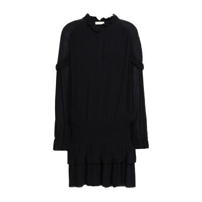 BA&SH ミニワンピース&ドレス ブラック 3 レーヨン 100% ミニワンピース&ドレス