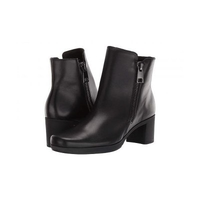 Munro ムンロ レディース 女性用 シューズ 靴 ブーツ アンクルブーツ ショート Devon - Black Leather