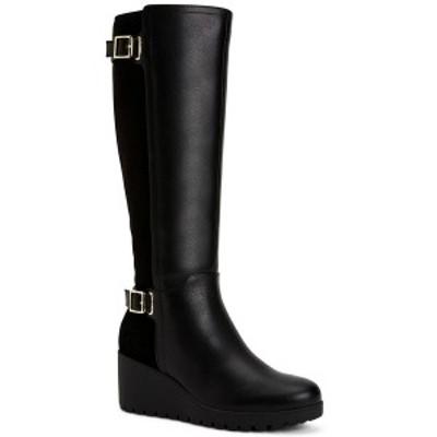 ジャニ ベルニーニ レディース ブーツ&レインブーツ シューズ Women's Memory Foam Wide-Calf Sannaa Boots, Created for Macys Black L