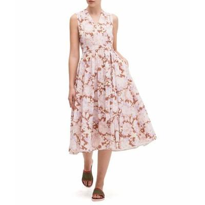 ケイト スペード ワンピース トップス レディース Exotic Bloom Burnout Dress Hot Cider