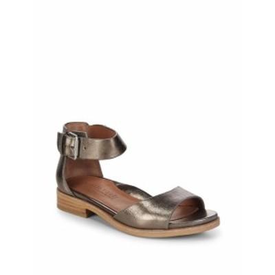 ジェントルソウルズ レディース シューズ サンダル Gracey Metallic Ankle-Strap Sandals