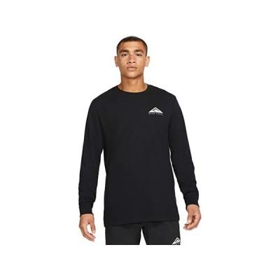 (取寄)ナイキ メンズ ドライ ティー ロング スリーブ トレイル Nike Men's Dry Tee Long Sleeve Trail Black