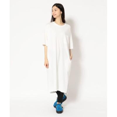 【ビーバー】 MANASTASH/マナスタッシュ WS WIDE TEE DRESS レディース OFF/WHITE M BEAVER