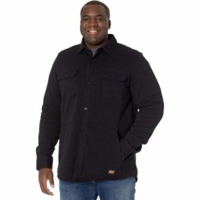 ティンバーランド Timberland PRO メンズ シャツ シャツジャケット トップス Mill River Fleece Shirt Jacket - Tall Jet Black